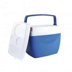 Caixa Térmica MOR 12 Litros - Azul Casa JHS
