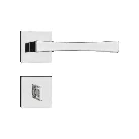 Fechadura Pado Banheiro Vivaldi Cromado 55mm Casa JHS