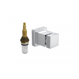 Acabamento Cubo para Registro de Pressão com Mecanismo Casa JHS