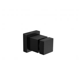 Acabamento Deca Cubo para Registro de Gaveta Black Matte Casa JHS