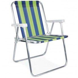 Cadeira MOR Alta de Alumínio de Listra Casa JHS
