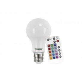 Lâmpada Led Taschibra TKL RGB IR 9w Autovolt  Casa JHS